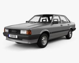 3D model of Audi 80 (B2) 1985