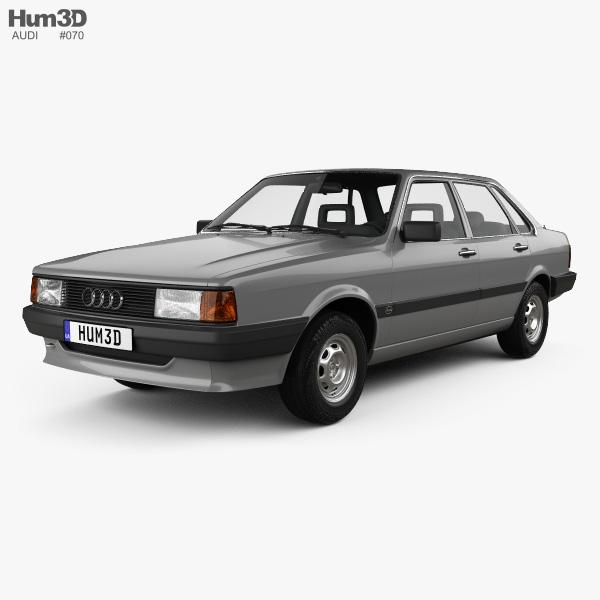 Audi 80 (B2) 1985 3D model
