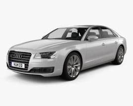 3D model of Audi A8 (D4) 2014