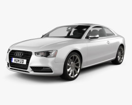 3D model of Audi A5 (8T3) coupe 2012