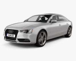 3D model of Audi A5 (8TA) sportback 2012