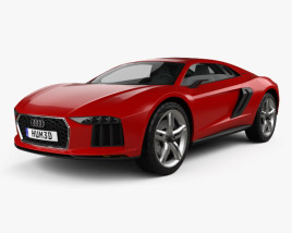 3D model of Audi Nanuk Quattro 2013