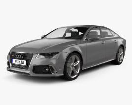 3D model of Audi RS7 (4G) sportback 2014