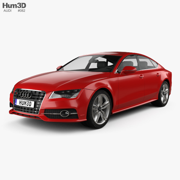 Audi S7 (4G) sportback 2012 3D model