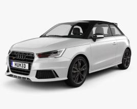 3D model of Audi S1 3-door 2014