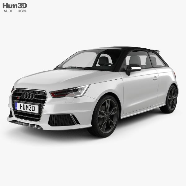 Audi S1 3-door 2014 3D model