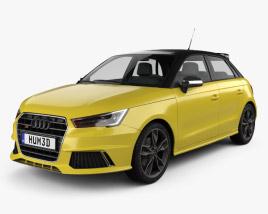 3D model of Audi S1 sportback 2014