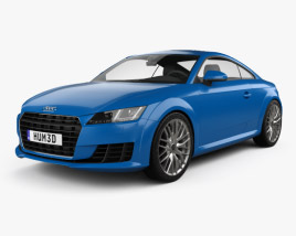 3D model of Audi TT (8S) coupe 2015