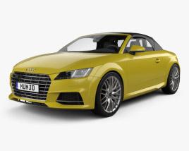 3D model of Audi TT (8S) S roadster 2015
