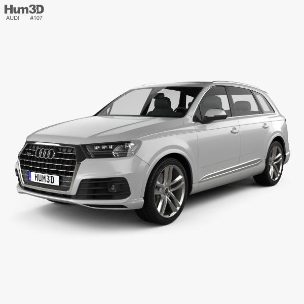 Audi Q7 S-line 2016 3D model