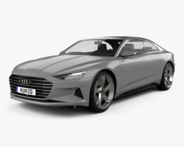 3D model of Audi Prologue Piloted Driving 2015