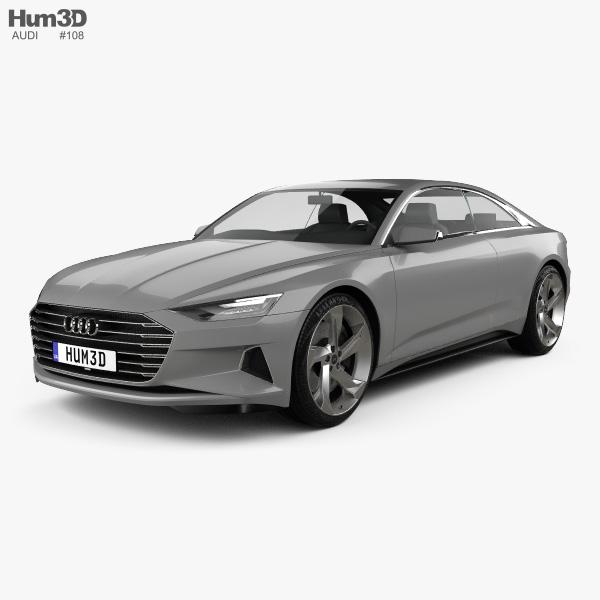Audi Prologue Piloted Driving 2015 3D model