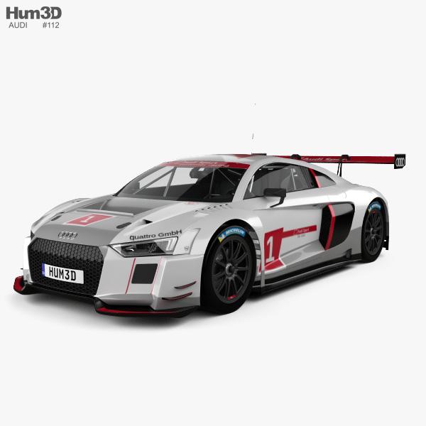 Audi R8 LMS 2016 3D model
