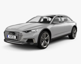 3D model of Audi Prologue Allroad 2015