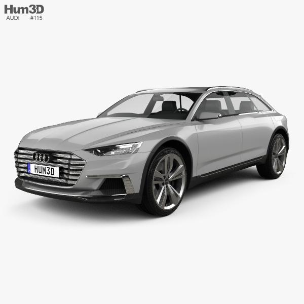 Audi Prologue Allroad 2015 3D model