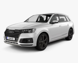 3D model of Audi Q7 e-tron 2017
