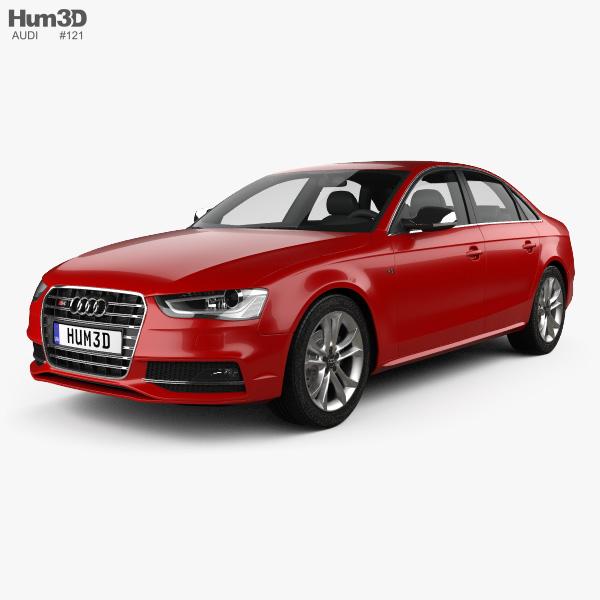 3D model of Audi S4 2013