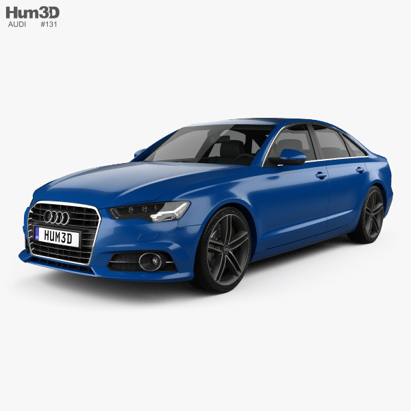 Audi A6 (C7) saloon 2015 3D model