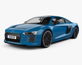 3D model of Audi R8 e-tron 2016