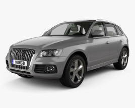 3D model of Audi Q5 with HQ interior 2013