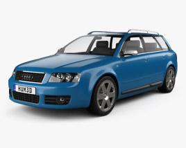 3D model of Audi S4 Avant 2003