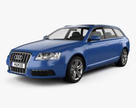 3D model of Audi S6 Avant 2006