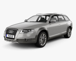 3D model of Audi A6 (C6) Allroad 2006