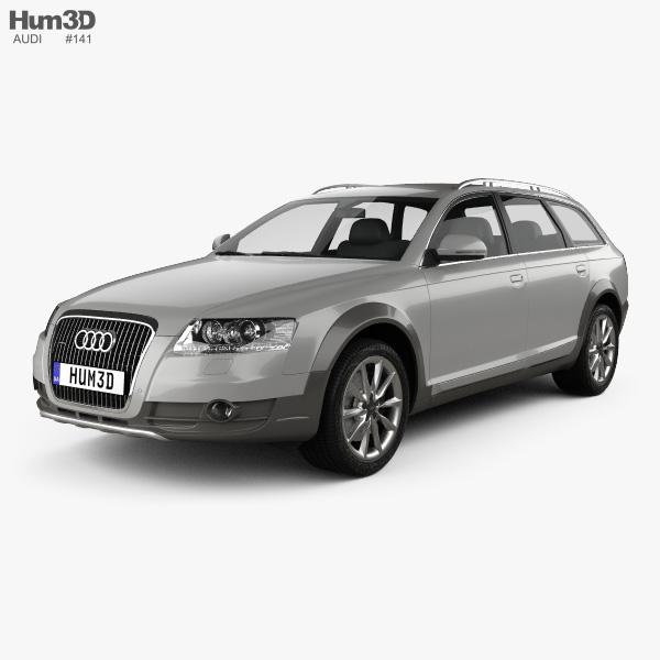 3D model of Audi A6 (C6) Allroad 2006