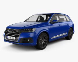 Audi SQ7 2016 3D model
