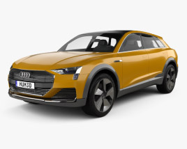 3D model of Audi h-tron quattro 2016