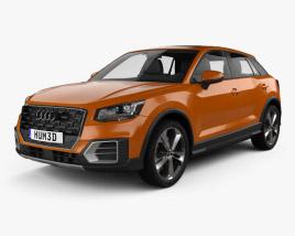 3D model of Audi Q2 2017
