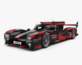 3D model of Audi R18 e-tron Quattro Prototype 2015