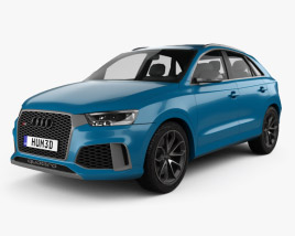 3D model of Audi RS Q3 Performance 2017