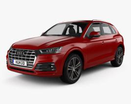 3D model of Audi Q5 S-Line 2016