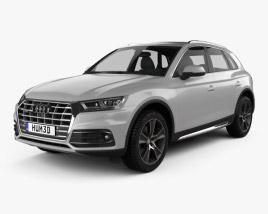 3D model of Audi Q5 2016