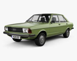 3D model of Audi 80 (B1) 1976