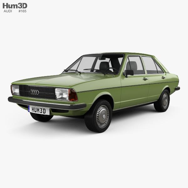 Audi 80 (B1) 1976 3D model