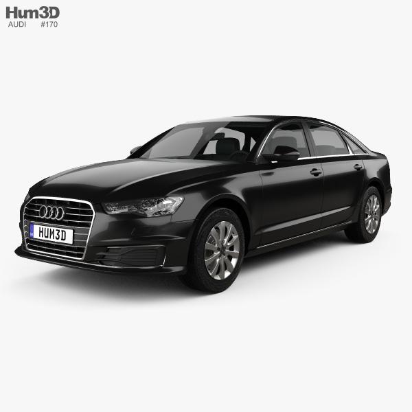 Audi A6 L (C7) saloon (CN) 2017 3D model