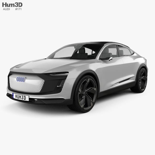Audi E-tron Sportback 2017 3D model