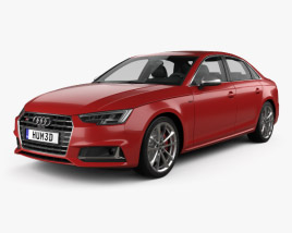 3D model of Audi S4 2016