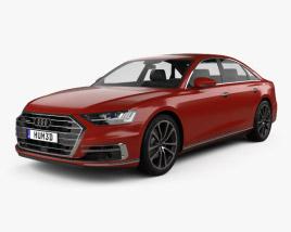 3D model of Audi A8 (D5) 2018