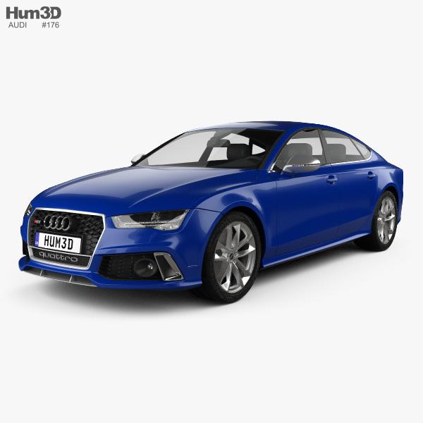 Audi RS7 (4G) Sportback Performance 2015 3D model