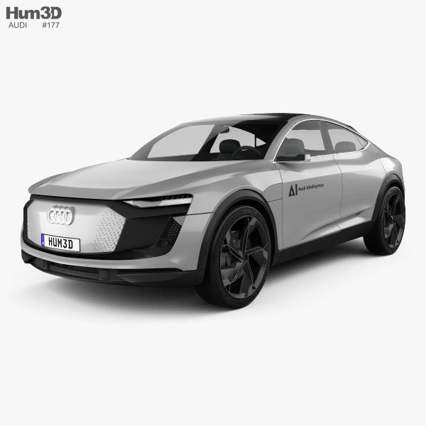 Audi Elaine 2017 3D model