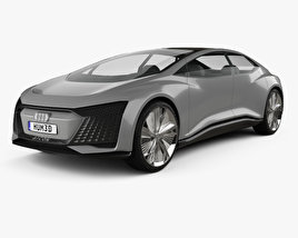 3D model of Audi Aicon 2017