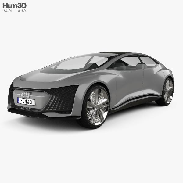 Audi Aicon 2017 3D model