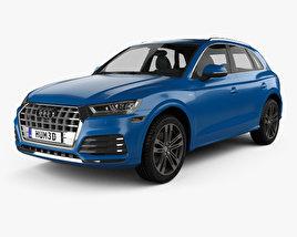 3D model of Audi SQ5 2017