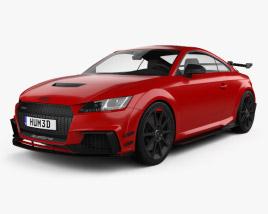 Audi TT RS coupe Performance Parts 2017 3D model