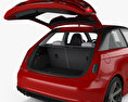 Audi A1 3-door with HQ interior 2015 3d model