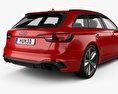 Audi RS4 Avant 2018 3d model
