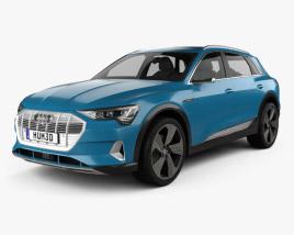 3D model of Audi e-tron 2019